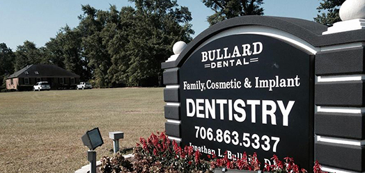 The office of Bullard Dental